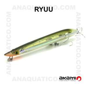 AMOSTRA AKAMI RYUU 18CM / 31GR TOP WATER  OLIVE GREEN