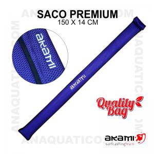 SACO PREMIUM COR VIOLETA 150 X 14 CM