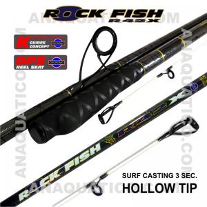 NBS ROCK FISH R42X SURF 3SEC. 4.5MT - 100/260GR - TUBULAR