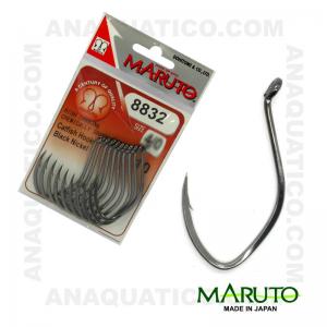 ANZOL MARUTO 8832 BLACK NICKEL C/ 10 PCS