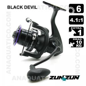 CARRETO ZUN ZUN BLACK DEVIL BB 6 / Drag 10Kg / R 4.1:1