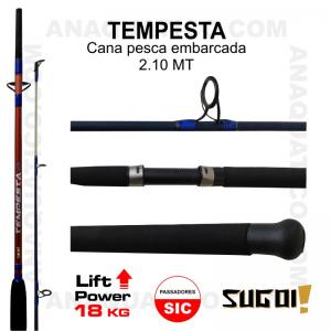 CANA TEMPESTA SUGOI 2.40MT - 10/20lb - MAX. 180GR