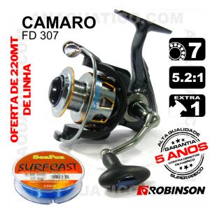 CARRETO ROBINSON CAMARO FD 307 BB 6+1 / Drag 6Kg / R 5.2:1