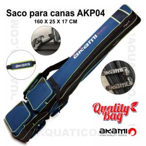 SACO PARA CANAS AKAMI AKP04 -160 X 25 X 17 CM