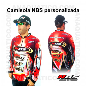 CAMISOLA NBS PERSONALIZADA COR VERMELHA - S