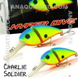 SPI CHARLIE SOLDIER FLOAT. 7CM  / 15GR MATTE BLUEBACK