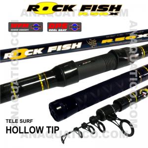NBS ROCK FISH R50X TELE SURF 4.5MT - 100/200GR - TUBULAR