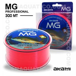 LINHA AKAMI MG PROFESSIONAL 0,204mm / 7,10kg / 300Mt