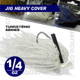 COYOTE JIG HEAVY COVER 1/4 OZ COR SALT PEPPER