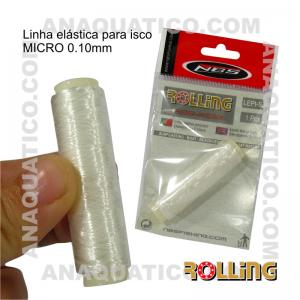 ROLLING Linha elástica para isco ø 0.10MM