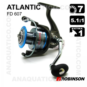 CARRETO ROBINSON ATLANTIC 607 BB 6+1 / Drag 11Kg / R 5.1:1