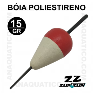 BÓIA  PIÃO ZUN ZUN PB - 33 X 55 CM - 15GR