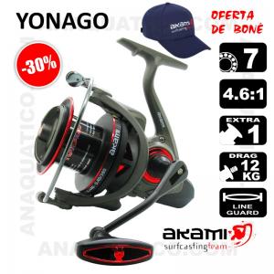 CARRETO AKAMI YONAGO BB 7 / Drag 12Kg / R 4.6:1